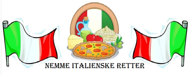 italiensk food logo